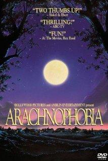 Poster do filme Aracnofobia