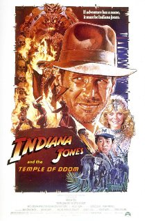 Poster do filme Indiana Jones e o Templo da Perdição