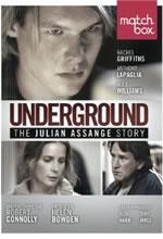 Poster do filme Underground: A História de Julian Assange