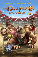 Poster do filme Um Gladiador em Apuros