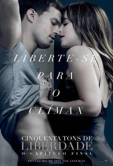 Poster do filme Cinquenta Tons de Liberdade