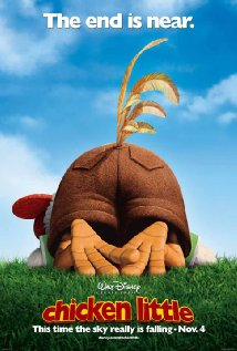 Poster do filme O Galinho Chicken Little