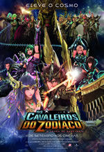 Poster do filme Os Cavaleiros do Zodíaco: A Lenda do Santuário