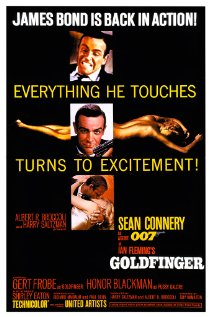 Poster do filme 007 - Contra Goldfinger