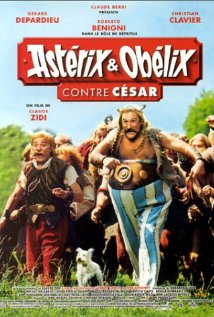 Poster do filme Asterix e Obelix Contra César