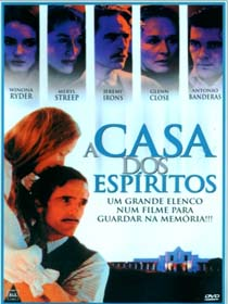 Poster do filme A Casa dos Espíritos