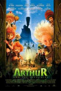 Poster do filme Arthur e os Minimoys