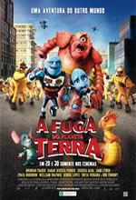Poster do filme A Fuga do Planeta Terra