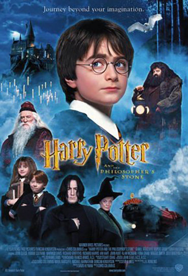 Poster do filme Harry Potter e a Pedra Filosofal