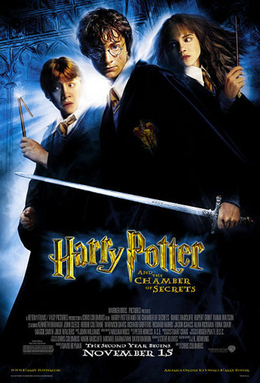 Poster do filme Harry Potter e a Câmara Secreta