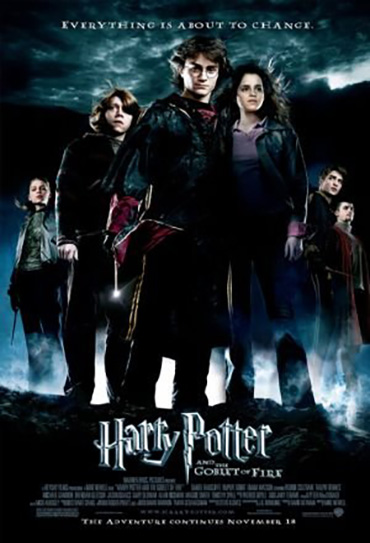 Poster do filme Harry Potter e o Cálice de Fogo