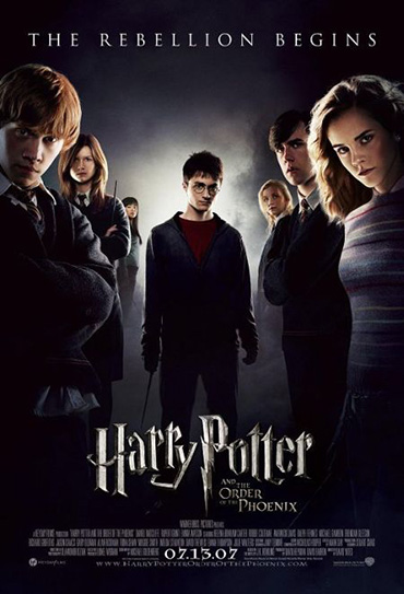 Poster do filme Harry Potter e a Ordem da Fênix