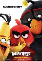 Poster do filme Angry Birds - O Filme