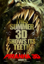 Poster do filme Piranha 3D