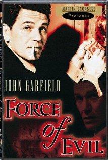 Poster do filme A Força do Mal