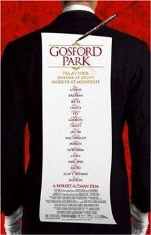 Poster do filme Assassinato em Gosford Park