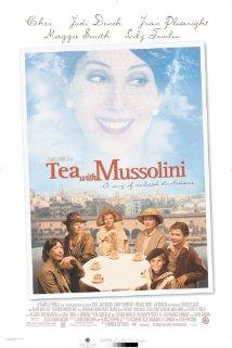 Poster do filme Chá com Mussolini