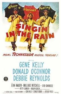 Poster do filme Cantando na Chuva