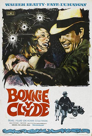 Poster do filme Bonnie e Clyde: Uma Rajada de Balas