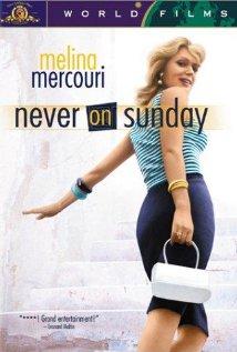 Poster do filme Nunca Aos Domingos
