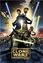 Poster do filme Star Wars: The Clone Wars
