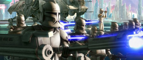 Imagem 1 do filme Star Wars: The Clone Wars