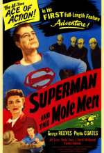 Poster do filme Superman and the Mole Men