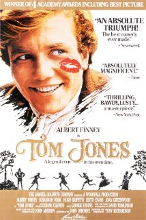 Poster do filme As Aventuras de Tom Jones