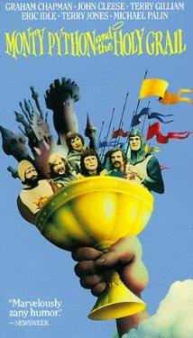 Poster do filme Monty Python em Busca do Cálice Sagrado