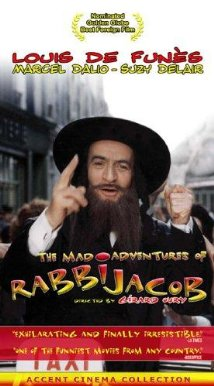 Poster do filme As Loucas Aventuras do Rabbi Jacob