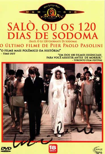 Poster do filme Saló ou 120 Dias de Sodoma