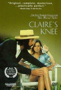 Poster do filme O Joelho de Claire