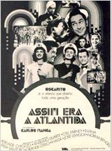 Poster do filme Assim Era a Atlântida