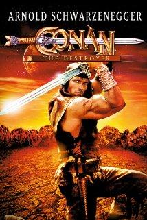 Poster do filme Conan, o Destruidor