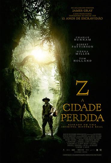Poster do filme Z - A Cidade Perdida
