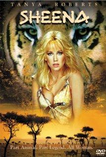Poster do filme Sheena - A Rainha das Selvas