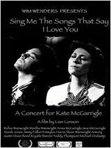 Poster do filme As Canções que Dizem Eu Te Amo - Um Concerto de Rufus & Martha Wainwright