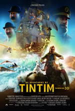 Poster do filme As Aventuras de Tintim