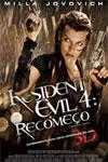 Pôster do filme Resident Evil 4: Recomeço