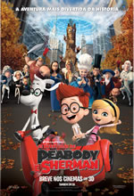 Poster do filme As Aventuras de Peabody e Sherman