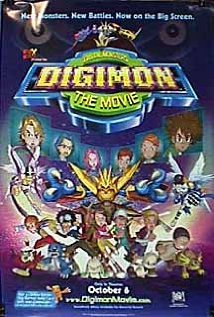 Poster do filme Digimon - O Filme