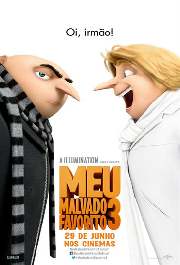 Poster do filme Meu Malvado Favorito 3