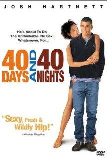 Poster do filme 40 Dias e 40 Noites