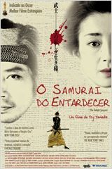 Poster do filme O Samurai do Entardecer