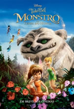 Poster do filme Tinker Bell e o Monstro da Terra do Nunca