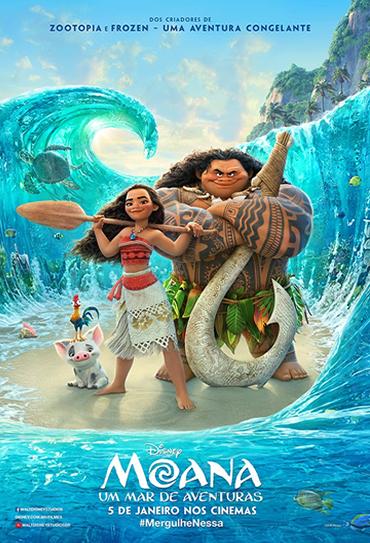 Poster do filme Moana - Um Mar de Aventuras