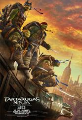 Poster do filme As Tartarugas Ninja - Fora das Sombras