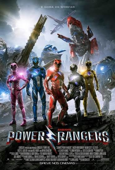 Poster do filme Power Rangers