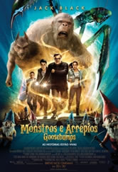 Poster do filme Goosebumps: Monstros e Arrepios