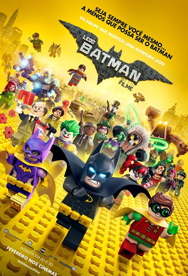 Poster do filme LEGO Batman: O Filme